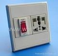 WF86CN Switches+Universal socket series 3