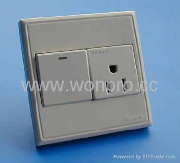 WF86CN Switches+Universal socket series 4