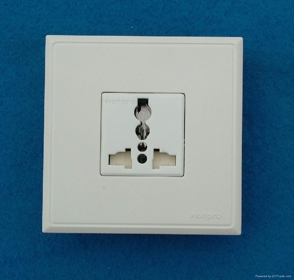 WF86C高级墙壁插座 1