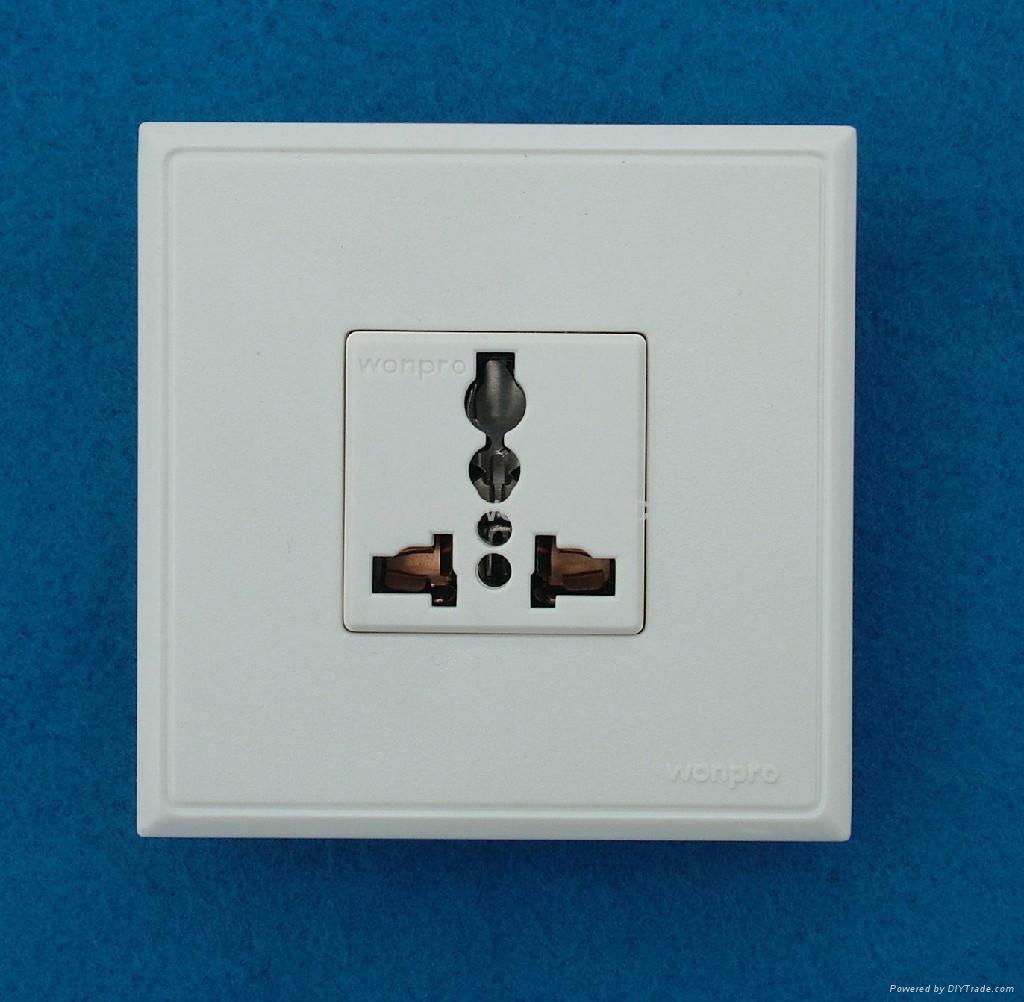 WF86C高级墙壁插座 2