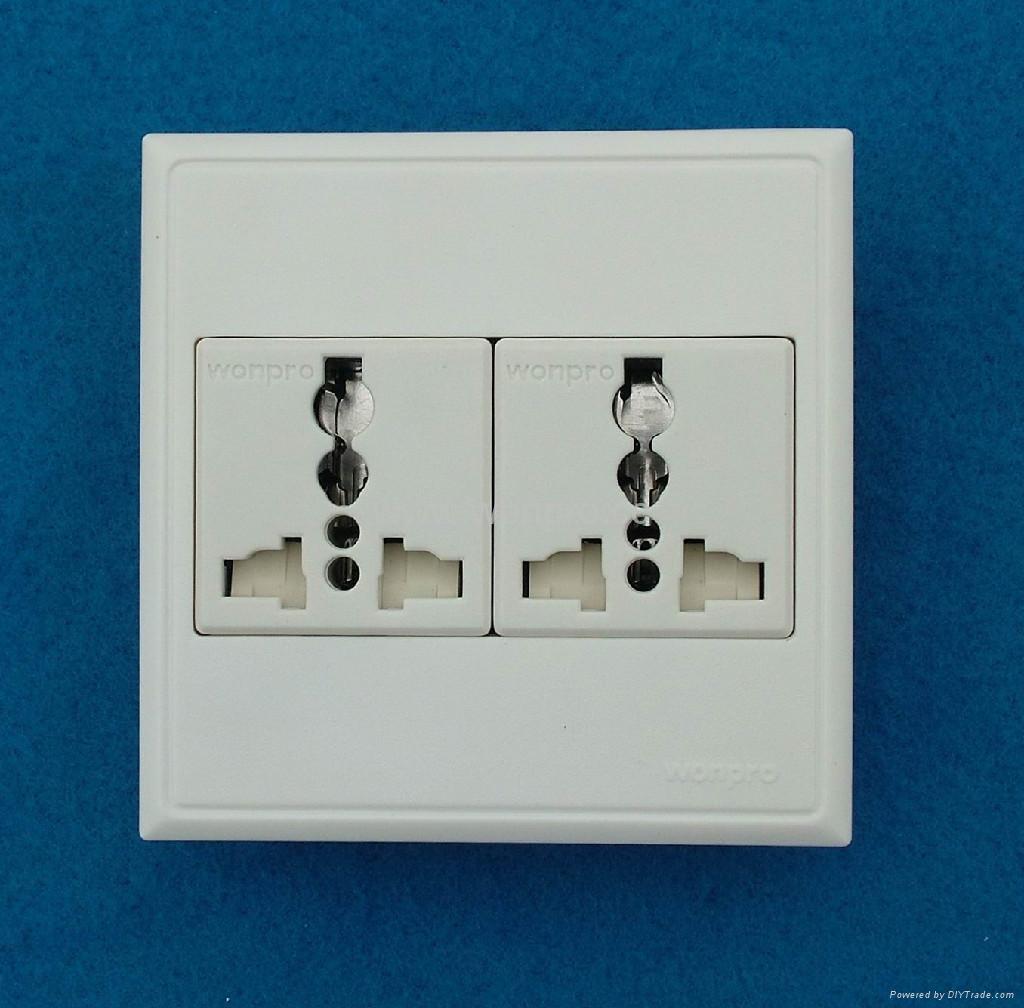 WF86C series Advanced Wall Sockets 1