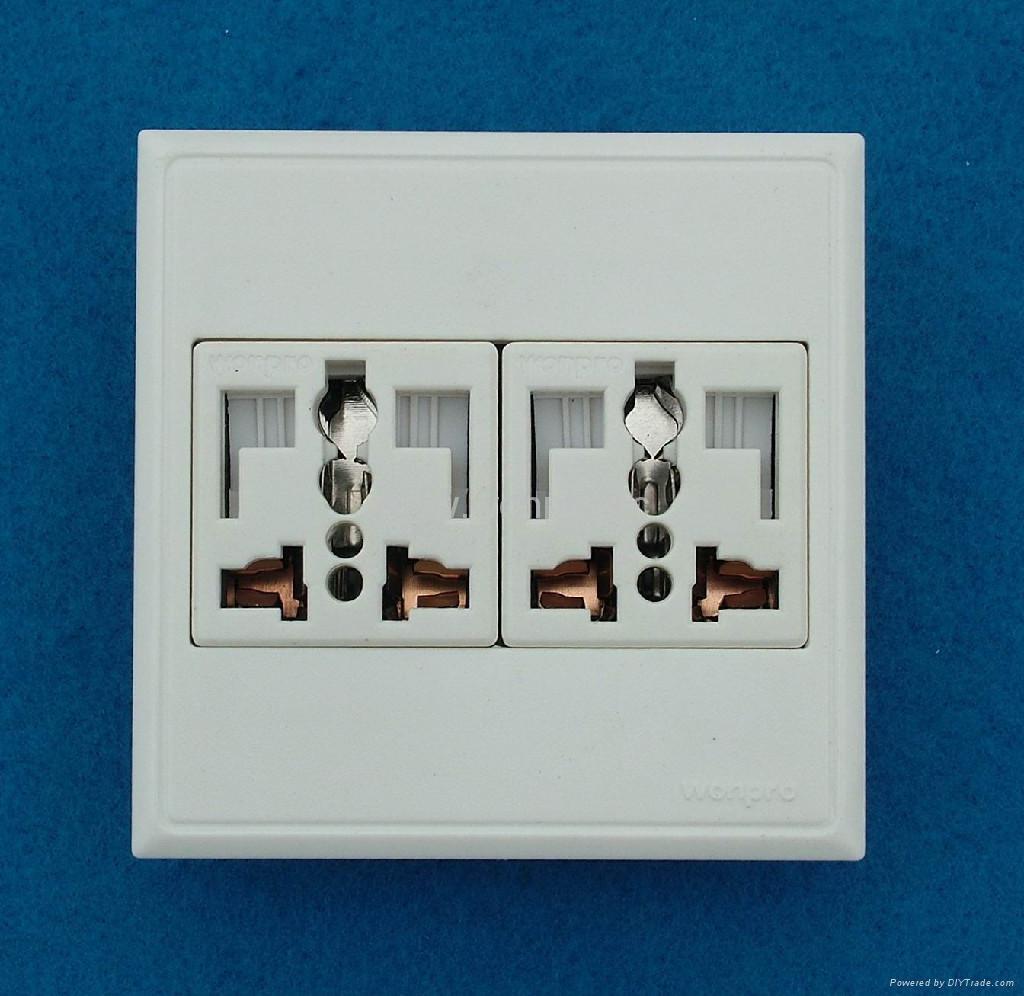 WF86C series Advanced Wall Sockets 3