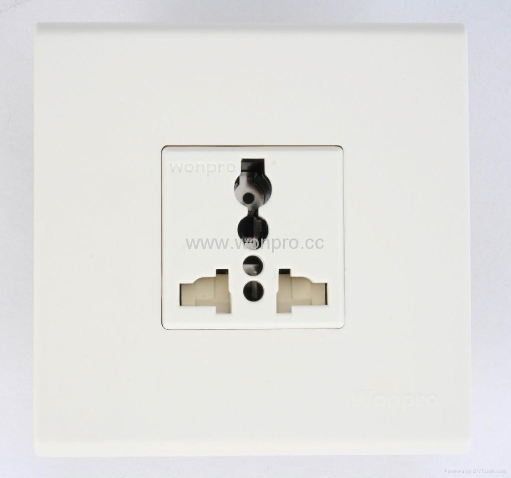 WF86CN series Advanced Wall Sockets 1