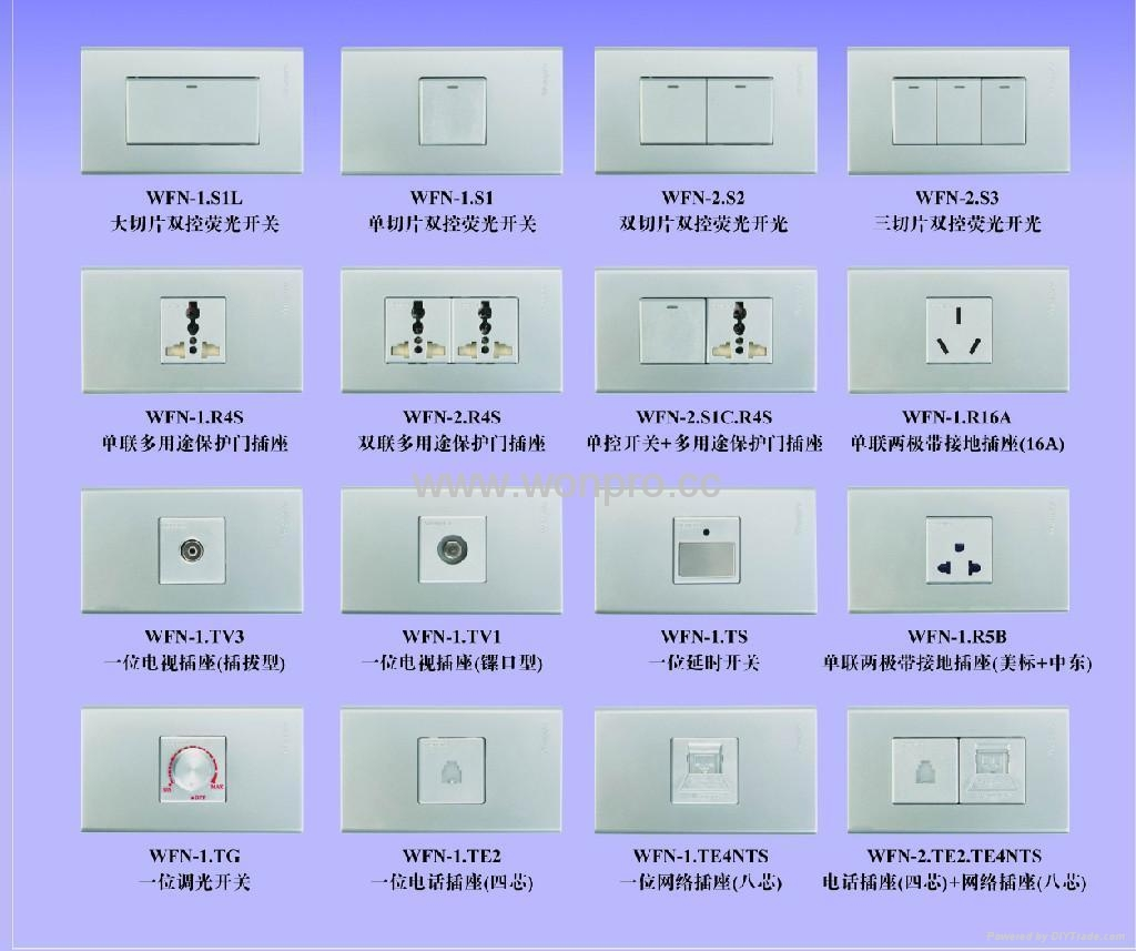 WFN series Adanved Decorating Switches  5