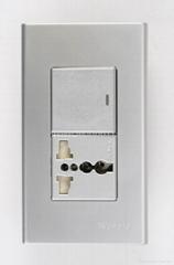 WFN开关+万用多用途插座系列