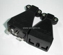 稳不落    L型安全动态化插头与插座(WSP+WSR)