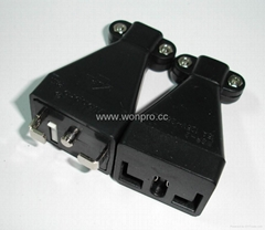 Wonpro Unique L shape Safety Moving Plug