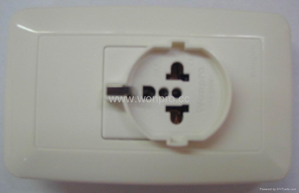 WF75款欧式万用插座 1