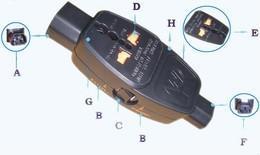万用快速插座连接保护器 1