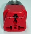 万用旅游转换器附有双电压指示与突波吸收器