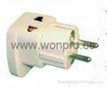 万用安全旅游转换器附有双电压指示与突波吸收器(WASDBvs系列) 4