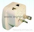 万用安全旅游转换器附有双电压指示与突波吸收器(WASDBvs系列) 5