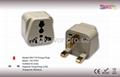 UK, Iraq  Grounded Plug Adapter(WA-7-W)