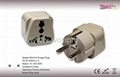 Schuko  Grounded Plug Adapter(WA-9-W)