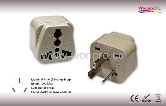 中国,澳洲式万用转换器)(WA-16) 1