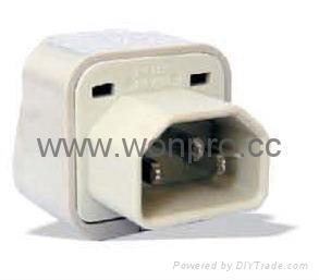 Computer IEC Plug Adapter (WA-320) 1