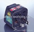中日美式两极无接地万用转换器(WA-6-BK)