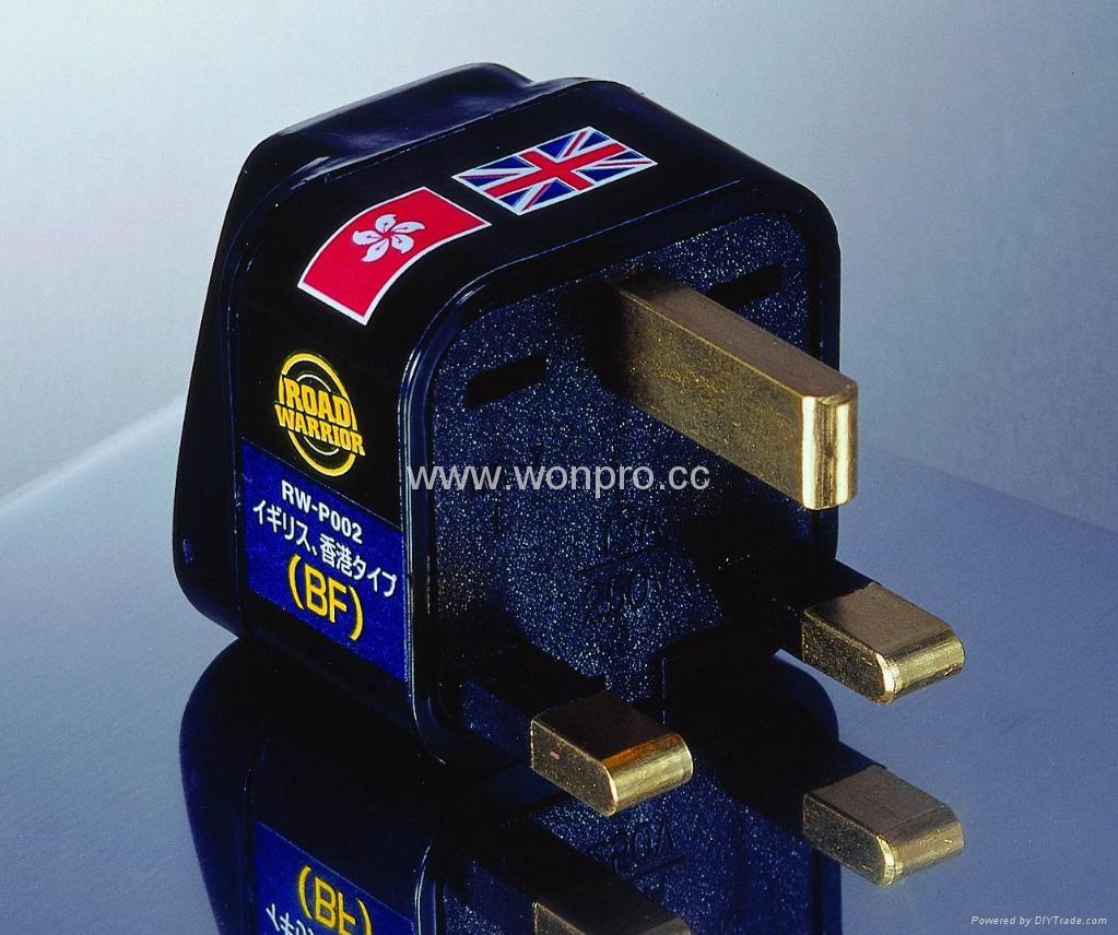 英国式万用转换器黑色(WA-7-BK) 1