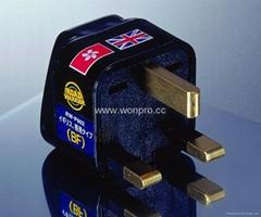 英国式万用转换器黑色(WA-7-BK)