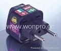 欧盟嵌入式旅游转换器(WA-9