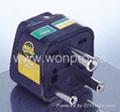 India Plug Adapter (Grounded)(WA-10-BK)