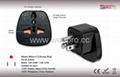 US  Grounded Plug Adapter w/indicator