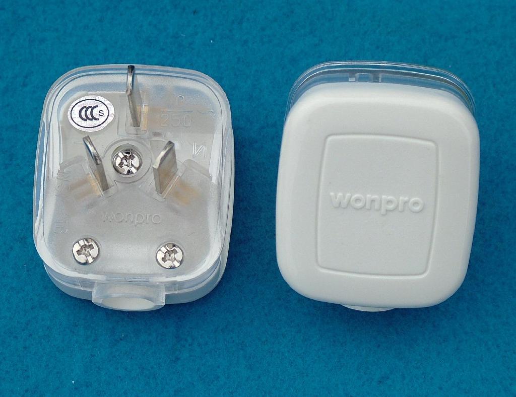 China 2 Or 3 Pole Plug With Diy Wiringwsp 6 16 16a Wonpro Wiring Mains Socket