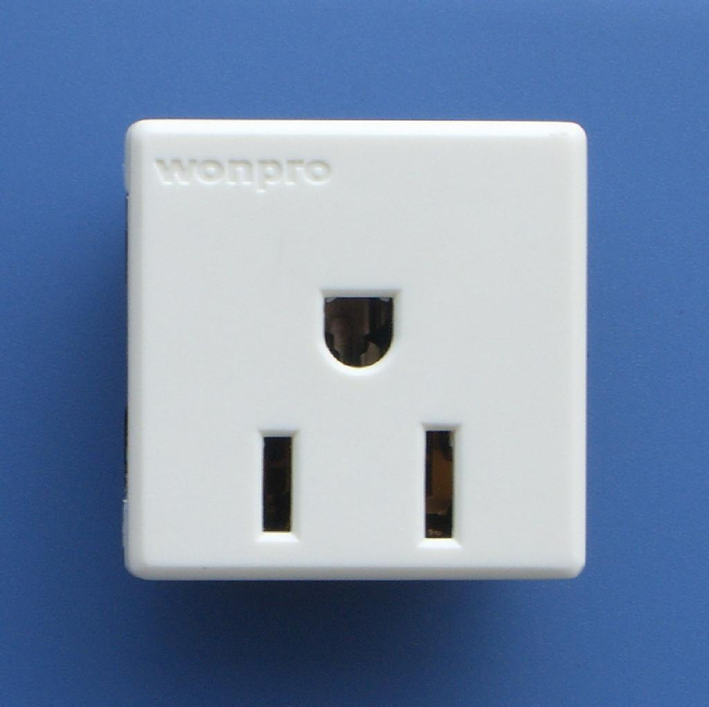 US standard socket-outlets - R5A, R5B, R6A - Wonpro (China ...