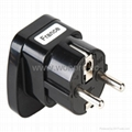 Wonpro universal safety travel adapter black series(WAS-BK series) 5
