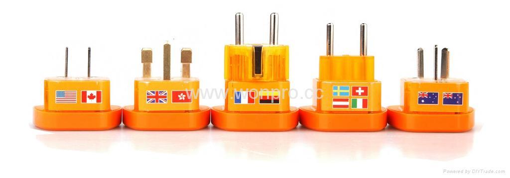 万用安全旅游转换器(附电压指示与突波吸收器)(WASvs系列) 2