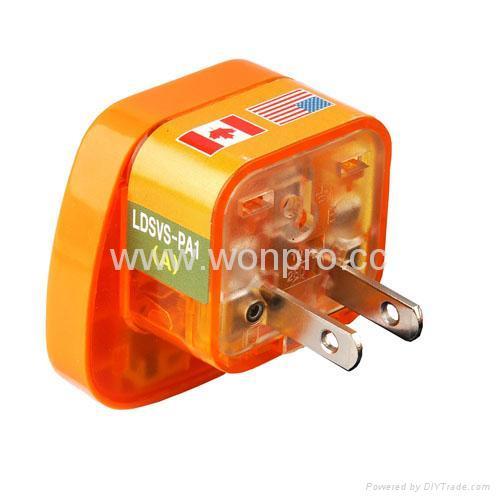 万用安全旅游转换器(附电压指示与突波吸收器)(WASvs系列) 3