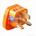 万用安全旅游转换器(附电压指示与突波吸收器)(WASvs系列) 4