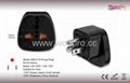 US  Grounded Plug Adapter (WAS-5.BK)