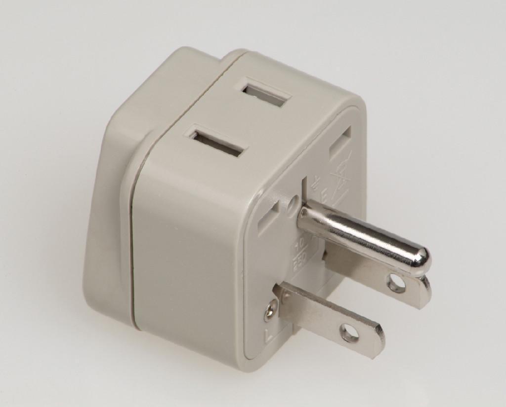 Japan Us Ungrounded Plug Adapter Wad 5 W Wonpro China