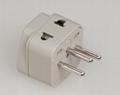 Switzerland Plug Adapter (Grounded)