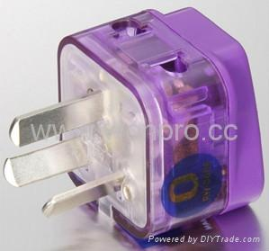 China (and old Australia) Plug Adapter (Grounded)(WADB-16.P.PL.L)  1