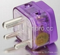 India Plug Adapter (Grounded) (WADB-10.P.PL.L) 1