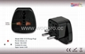 Israel Plug Adapter (Grounded,