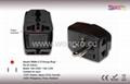 US  Grounded Plug Adapter(WAIIIv-5-BK)