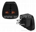 US 220V Plug Adapter (Grounded, NEMA