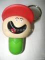 戴帽子伸缩笔匙扣 5