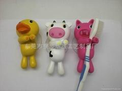 浴室系列毛巾挂钩和牙刷架