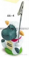 Sheep ballpen with Memo name card holder