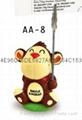 Monkey ballpen with Memo name card holder