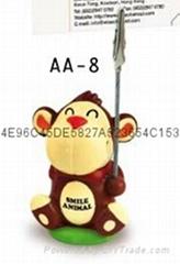 猴子伸縮筆名片夾