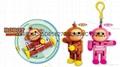 猴子積木機器人挂件