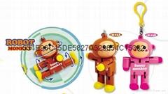 monkey robot keychain