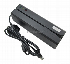 3 Track USB Magnetic Stripe Card Reader Writer MSR606
