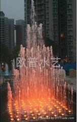 重慶音樂噴泉
