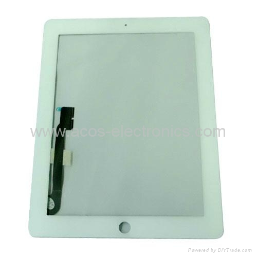 iPad 3 Touch Panel Digitizer White 1